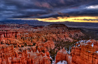 Stormy Bryce Morning